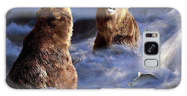 Fishing Alaska Galaxy Case