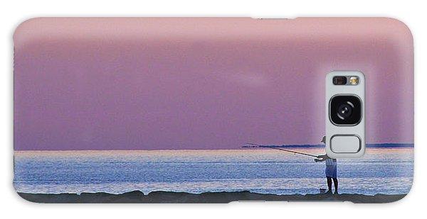 Dawn On Cape Cod Bay Galaxy Case