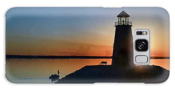 Fishing At The Lighthouse Galaxy Case