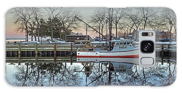 Fishing Boat At Newburyport Galaxy Case