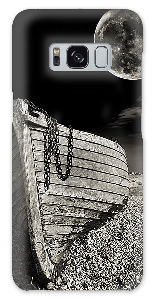 Moon Galaxy Case - Fishing Boat Graveyard 3 by Meirion Matthias
