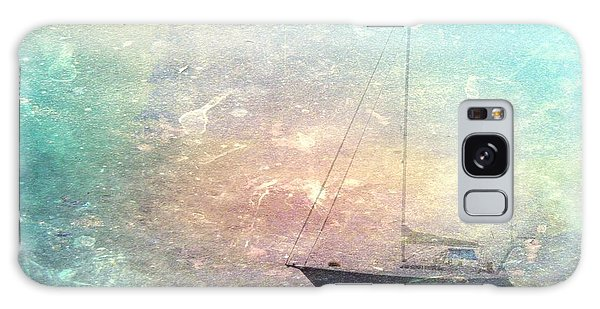 Fishing Boat In The Morning Galaxy Case