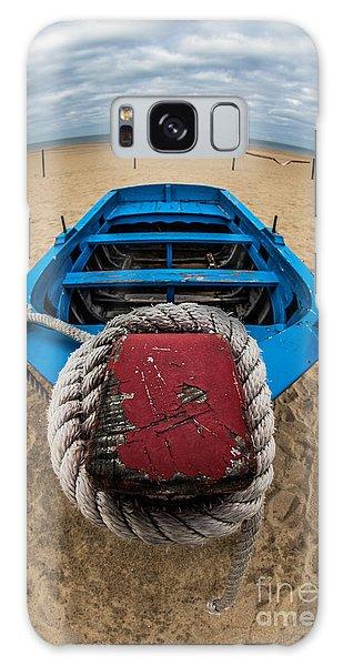 Little Blue Fishing Boat Galaxy Case