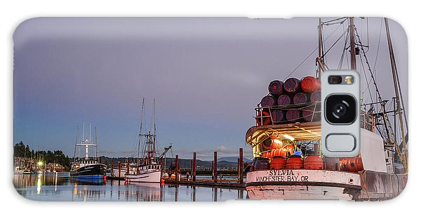 Fishing Boats Waking Up For The Day Galaxy Case