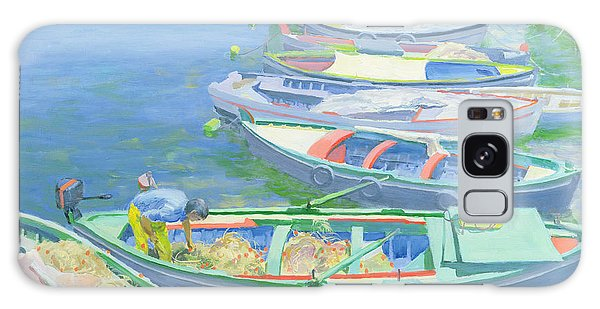 Boat Galaxy S8 Case - Fishing Boats by William Ireland