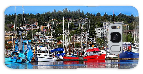 Fishing Fleet At Newport Harbor Galaxy Case