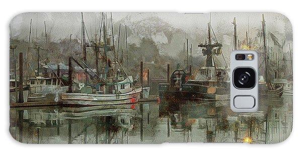 Fishing Fleet Dock Five Galaxy Case