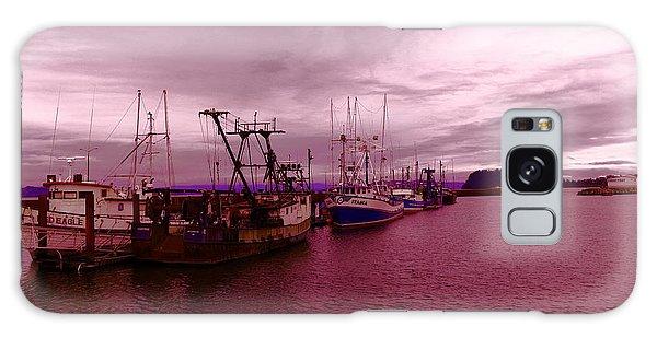 Swan Boats Galaxy Case - Fishing Fleet by Jeff Swan
