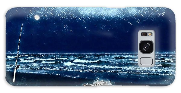 Fishing For The Moon Galaxy Case
