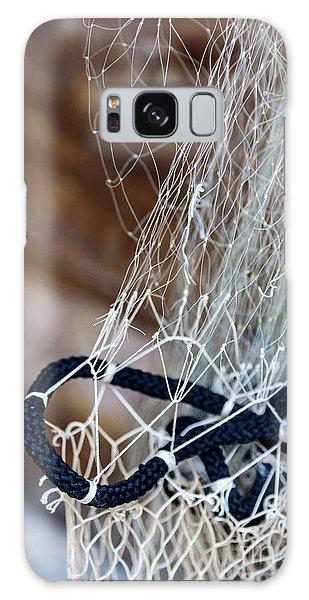 Fishing Net Details - Rovinj, Croatia Galaxy Case