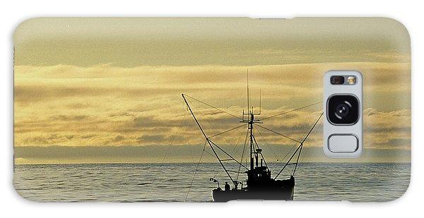 Fishing Off Santa Cruz Galaxy Case