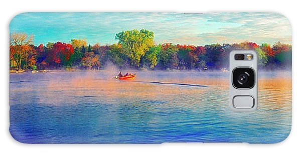 Fishing On Crystal Lake, Il., Sport, Fall Galaxy Case
