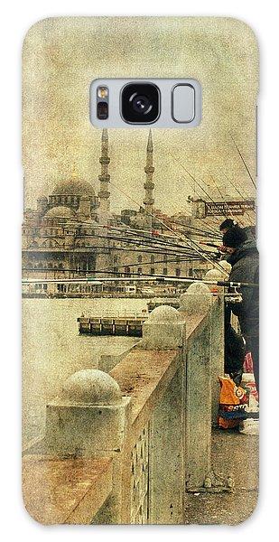 Fishing On The Bosphorus Galaxy Case by Vittorio Chiampan