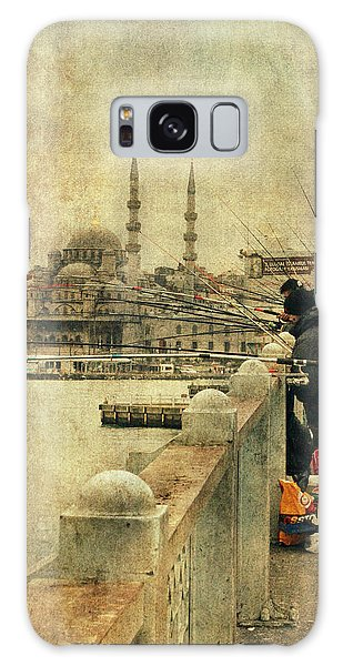 Fishing On The Bosphorus Galaxy Case