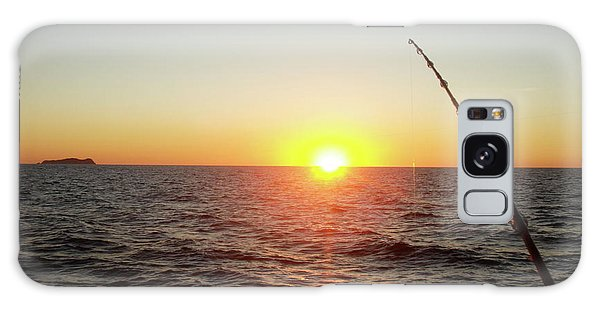 Fishing Pole Taken On 35mm Film Galaxy Case