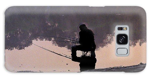 Fishing Galaxy Case by R Thomas Berner
