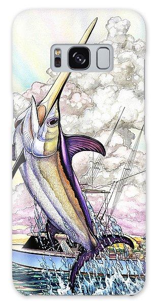 Fishing Swordfish Galaxy Case