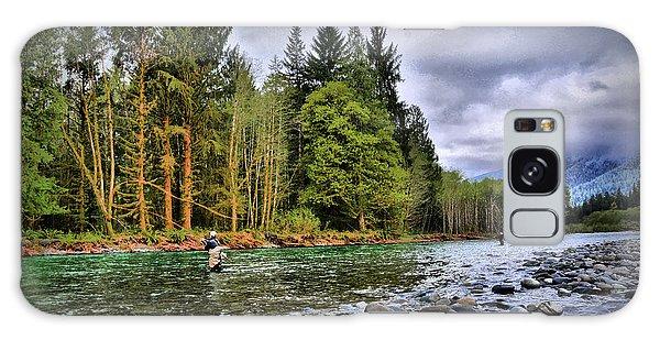 Fishing The Run Galaxy Case