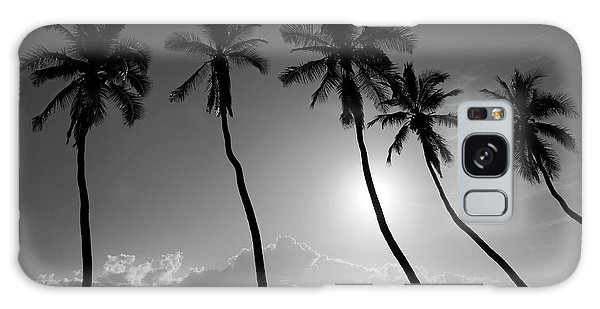 Five Coconut Palms Galaxy Case