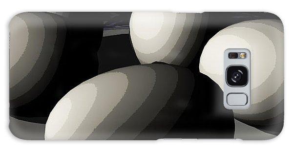 Five Eggs  Galaxy Case by James Barnes