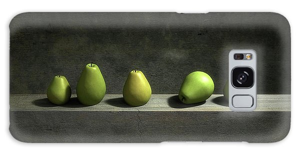 Lives Galaxy Case - Five Pears by Cynthia Decker