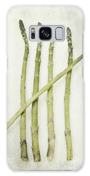 Asparagus Galaxy Case - Five by Priska Wettstein
