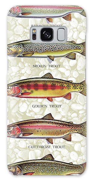 Five Trout Panel Galaxy Case