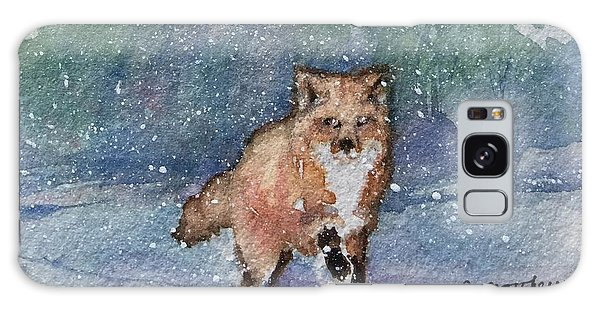 Fox In Snow Galaxy Case