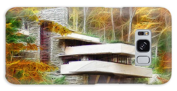 Fixer Upper - Frank Lloyd Wright's Fallingwater Galaxy Case