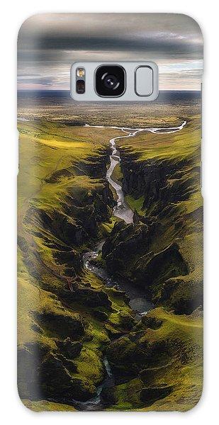 Iceland Galaxy S8 Case - Fjadrargljufur by Tor-Ivar Naess