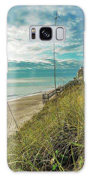 St Aug Beach Galaxy Case by Josy Cue