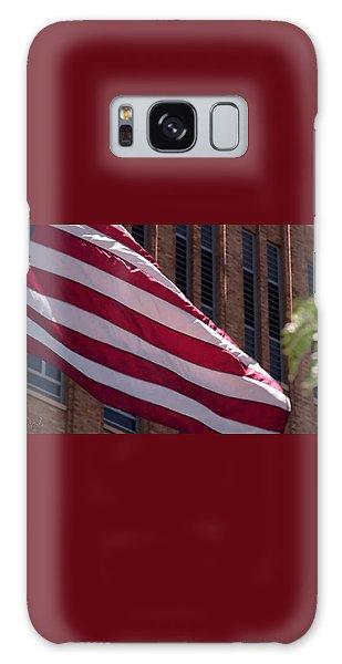 Flag Courtship Galaxy Case