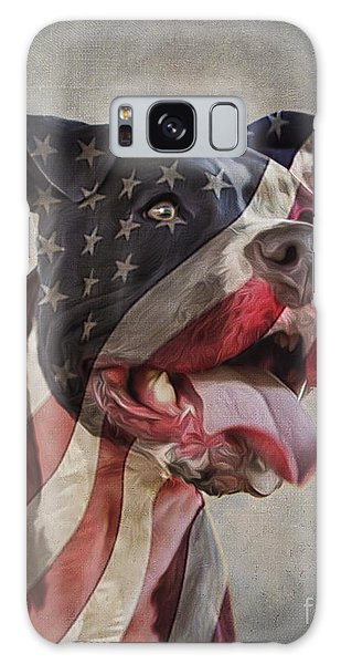 Flag Dog Galaxy Case