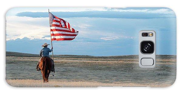 Flag Of Freedom Galaxy Case