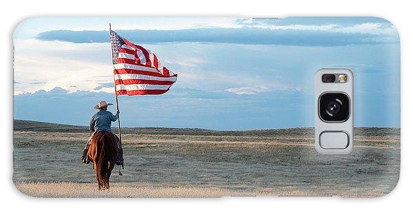 Landmark Galaxy Case - Flag Of Freedom by Pamela Steege