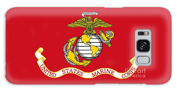 Flag Of The United States Marine Corps Galaxy Case by Pg Reproductions