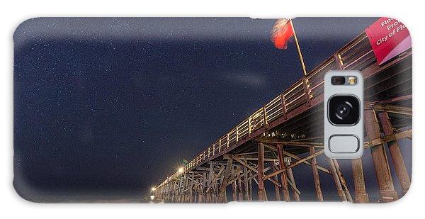 Flagler Galaxy Case - Flagler Beach by Kristopher Schoenleber