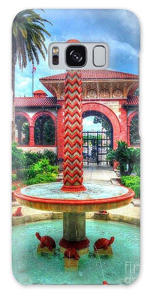 Flagler Galaxy Case - Flagler College Fountain by Debbi Granruth