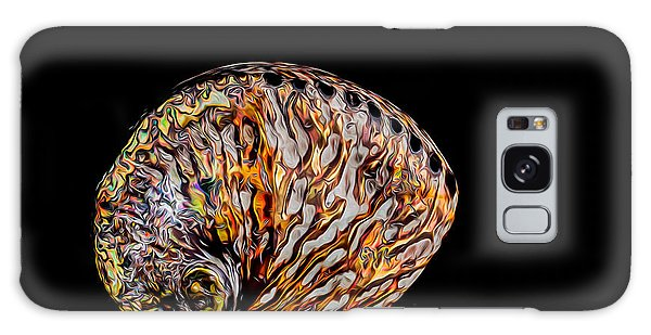 Flame Abalone Galaxy Case