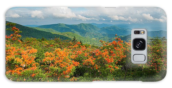 Flame Azaleas Roan Highlands Appalachian Trail Galaxy Case