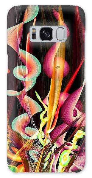 Flame By Nico Bielow Galaxy Case by Nico Bielow