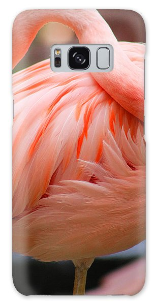 Flame Colored Galaxy Case