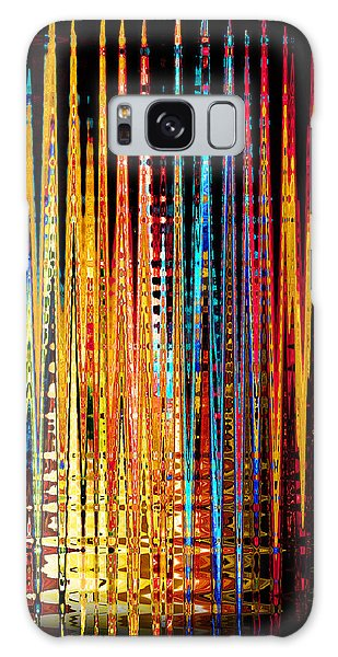 Flame Lines Galaxy Case by Francesa Miller