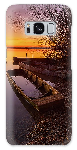 Galaxy Case featuring the photograph Flame Of Dawn by Davor Zerjav
