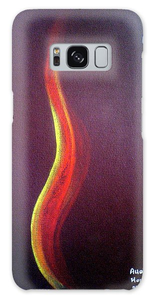 Flame Of Ra Galaxy Case by Ahonu