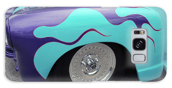 Galaxy Case featuring the photograph Flame Paint Job by Bill Thomson
