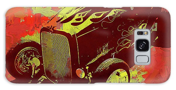 Flamed 1932 Ford Roadster Hot Rod Pop Red Galaxy Case