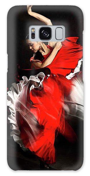 Flamenco Dancer - 01 Galaxy Case