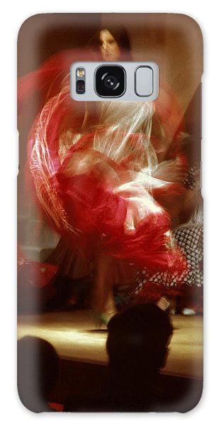 Flamenco Dancer In Seville Galaxy Case