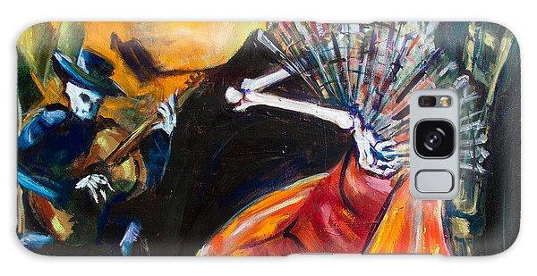 Calavera Galaxy Case - Flamenco Fan by Sharon Sieben